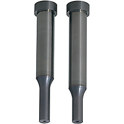 Carbide Shoulder Punches with Air Holes  TiCN Coating