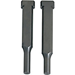 Carbide Key Flat Shank Shoulder Punches  Normal, TiCN Coating