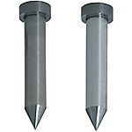 Carbide Straight Pilot Punches for Fixing to Stripper Plates  -Sharp Tip Angle Type - Normal, Lapping