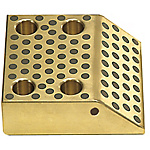 Cam Stroke Plates -45° Copper Alloy Type-