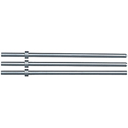 Free Flange Position Straight Ejector Pins Wih Tip Processed-High Speed Steel SKH51 / L Dimension Designation_Shaft Diameter・L Dimension Designation Type-