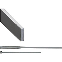 Extra Precision Rectangular Ejector Pins -High Speed Steel SKH51/P・W Tolerance 0_-0.003/Free Designation Type-