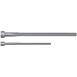 Precision Rectangular Ejector Pins -High Speed Steel SKH51/P・W Tolerance 0_-0.005/Free Designation・N Dimension Short Type-