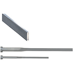 Precision R-Chamfered Rectangular Ejector Pins -High Speed Steel SKH51/P・W Tolerance 0_-0.005/Free Designation Type-