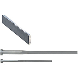 Precision R-Chamfered Rectangular Ejector Pins -High Speed Steel SKH51/P・W Tolerance 0_-0.005/R Position Selection Type-
