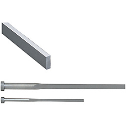 Precision C-Chamfered Rectangular Ejector Pins -High Speed Steel SKH51/P・W Tolerance 0_-0.005/Free Designation Type-