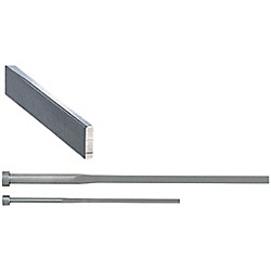 R-Chamfered Rectangular Ejector Pins -High Speed Steel SKH51/P・W Tolerance 0_-0.01/L Dimension Designation Type-