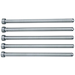 Straight Center Pins With Tip Processed -High Speed Steel SKH51/Shaft Diameter (D) Selection Type-