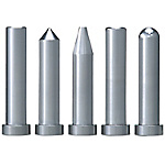 Extra Precision Straight Core Pins With Tip Processed -Shaft Diameter (D) Selection Type_Shaft Diameter (P) Designation (0.001mm Increments) Type-