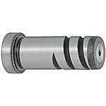 Precision Leader Pins -Head Type Spiral Groove/Press-Fit Length Designation/Blank Type-