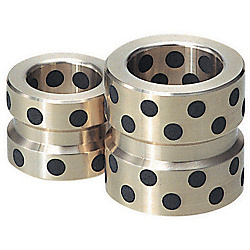 Oil-Free Leader Bushings For High Temperature Use -Straight Type/Special Copper Alloy- GBSKZ25-25