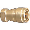 Compact・Double Valves Cooling High Flow Couplers -Sockets/Male Screw Type-