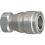 Compact・Double Valves Cooling High Flow Couplers -Stainless Steel Sockets-