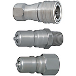 Double Valves SP Couplers For Cooling -Stainless Steel Sockets・Plugs-