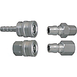 Valveless TSP Couplers For Cooling Pipe -Stainless Steel Sockets・Plugs-
