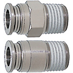 Quick-Fitting Joints For Mold Cooling -Integrated Plugs・Sockets/(Heat-Resistant 120degree Series) /Straight Joints-