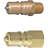 Double Valves SP Couplers For Cooling -Plugs/Heat Resistant 180degree-