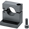 Shaft Supports Hinged (Machined) - L-Shaped / Bottom Mount / Side Mount