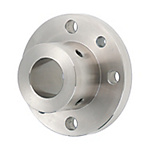 Shaft Supports Flanged Mount, Thick Sleeve - With Dowel Holes
