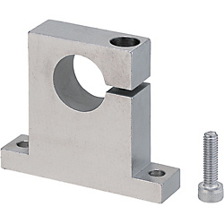 Shaft Supports T-Shaped Side Slit (Machined) - Standard