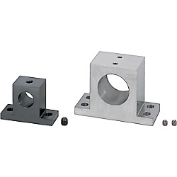 Shaft Supports T-Shaped Set Screw (Machined) - Wide