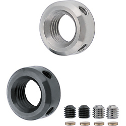 Shaft Collar (Threaded Bore) - Set Screw Type
