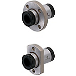 Linear Bushings with Lubrication Unit MX - Flanged Single with Pilot