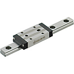 Miniature Linear Guides - Long Blocks with Dowel Holes, Light Preload