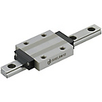 Miniature Linear Guides - Wide Long Blocks, Light Preload