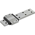 Miniature Linear Guides - Wide Rails - Wide Standard Blocks, Light Preload / Slight Clearance