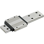 Miniature Linear Guides - Wide Rails - Wide Long Blocks, Light Preload