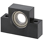 Support Units - Square Type, Support Side, Mounting Hole Narrow Pitch-