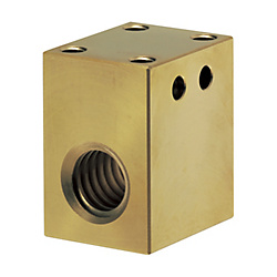 Block Nuts for Lead Screws/Tall Block/Lubrication Free