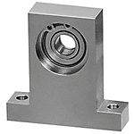 Bearings with Housings - Low Dust Raise Greased, T-Shaped, Retained