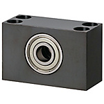 Bearings with Housings - Block, Double Bearings, Non-Retianed