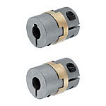 Oldham Couplings - High Rigidity, Clamping