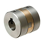 Oldham Couplings - High Rigidity Large Shaft Diameter, Set Screw / Clamping