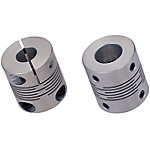Slit Couplings - Extra Super Duralumin - Clamping, Set Screw, Short