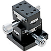 [High Precision] XY-Axis Dovetail Slide, Rack & Pinion - Rectangular