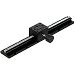 [High Precision] X-Axis Dovetail Slide, Rack & Pinion - Long Stroke (300mm)