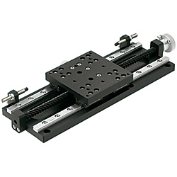 [High Precision] Linear Guide / [Simplified Adjustments] X-Axis, Heavy Load Adjustment Unit