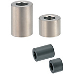 Cylindrical Nuts with Hex Socket