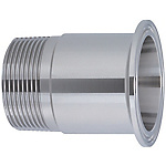 Sanitary Adapter Fittings - Ferrule End and Threaded End