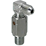 Swivel Joints - Straight / 90 Deg. Elbow, PT Threaded, PT/PF Tapped/Threaded