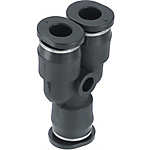 Miniature One-Touch Couplings - Union Y