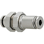 One-Touch Couplings/All Stainless Steel/Bulkhead Union