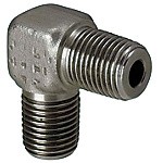 Hydraulic Fittings - 90 Deg. Elbow, PT Threaded, PT Threaded