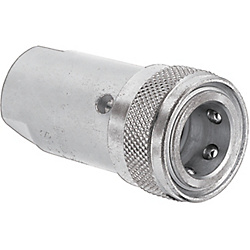 Fluid Couplers - 210 High Pressure Valve Type - Sockets