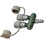 Air Couplers/Manifold/2 Socket/1 Plug