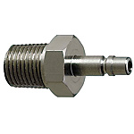 Air Couplers - Chemical Resistant, Plug, Threaded